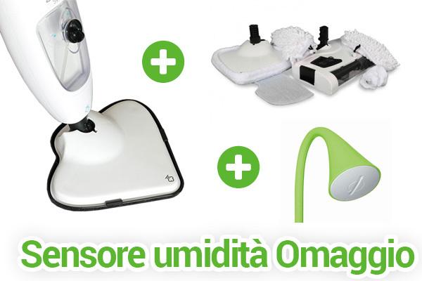Steam Sweeper + Kit Accessori + Sensore Piante OMAGGIO